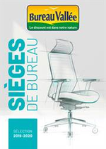 Prospectus Bureau Vallée : Sièges de Bureau 2019-2020