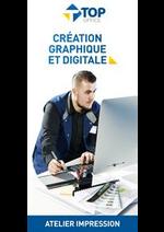 Prospectus Top office : Création Graphique et digitale