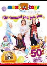 Prospectus Maxi Toys : Un carnaval fou, fou, fou