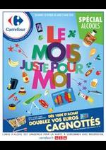 Prospectus Carrefour : Le mois juste pour moi