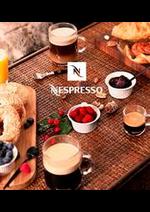 Prospectus  : Produits Nespresso
