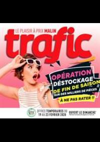 Prospectus Trafic Andenne : Offres Destockage