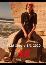 Catalogues et collections H&M : H&M Studio S:S 2020