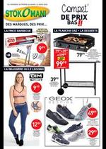 Prospectus stokomani : Compet' de prix bas!!
