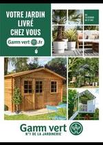 Prospectus Gamm vert : Catalogue Gamm vert