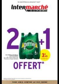Prospectus Intermarché Super Vireux Molhain : 2 + 1 OFFERT