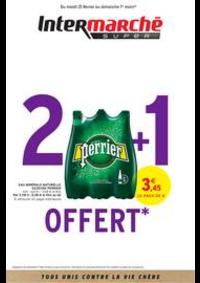 Prospectus Intermarché Super Jeumont : 2 + 1 OFFERT