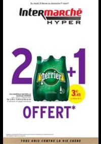 Prospectus Intermarché Hyper MORTEAU : 2 + 1 OFFERT
