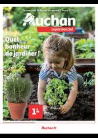 Prospectus Auchan Supermarché Paris 12 Reuilly : Quel bonheur de jardiner !