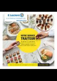 Prospectus E.Leclerc VITRY SUR SEINE : Votre service traiteur à prix E.Leclerc