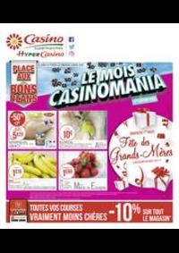 Prospectus Supermarchés Casino TOULON Angle av. Pasteur et RN 97 : Le mois Casinomania