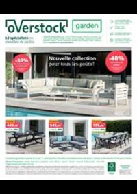 Prospectus Overstock Garden Brugge : Nouvelle collection pour tous les gouts!