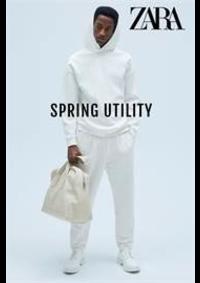 Catalogues et collections ZARA DUNKERQUE 5 PLACE DE LA REPUBLIQUE : Utility Spring