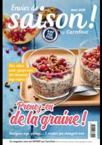 Journaux et magazines Carrefour BOURGES : Envies de saison