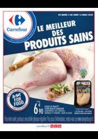 Prospectus Carrefour CHARENTON LE PONT : Manger sain mars
