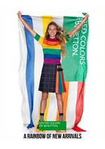 Catalogues et collections Benetton : A Rainbow of New Arrivals