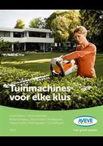 Prospectus AVEVE : Tuinmachines