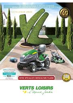 Prospectus Verts Loisirs : Votre spécialiste motoculture plaisir