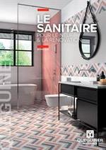 Prospectus Quéguiner matériaux : Le Sanitaire pour le neuf & la rénovation