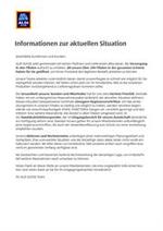 Services et infos pratiques Aldi : Covid-19 Updates