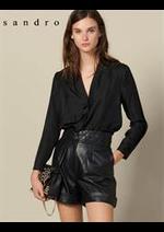 Prospectus Sandro : Chemises Femme