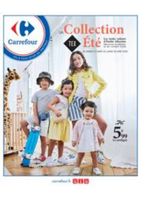 Prospectus Carrefour CHARLEVILLE MEZIERES : La collection Tex Eté