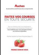 Services et infos pratiques Auchan : Tract du 25 au 31 mars