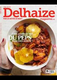 Prospectus Supermarché Delhaize Amay : Delhaize Magazine