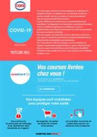 Services et infos pratiques Cora PACÉ : Infos COVID-19