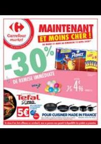 Prospectus Carrefour Market NOISY LE SEC : Maintenant et moins cher !