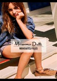 Catalogues et collections Massimo Dutti LEVALLOIS-PERRET : Nouveautés  Filles