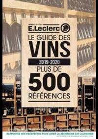 Prospectus E.Leclerc Ozoir La Ferrière : Le guide des vins 2019-2020