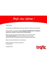 Prospectus Trafic Aywaille : Horaires exceptionnels