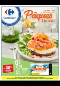 Prospectus Carrefour Drancy : Pâques à la carte
