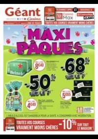 Prospectus Géant Casino BARBEREY SAINT SULPICE : Maxi Pâques