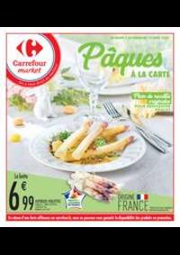 Prospectus Carrefour Market Thonon-les-Bains - Avenue Jules Ferry : Pâques à la carte