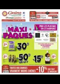 Prospectus Supermarchés Casino PARIS 28 - 34 rue de Ménilmontant : Maxi Pâques