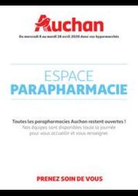 Prospectus Auchan Plaisir : Espace Parapharmacie