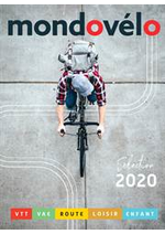 Promos et remises  : Catalogue Mondovélo 2020