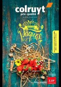 Prospectus Colruyt ZONHOVEN : Joyeuses paques