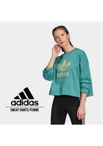 Catalogues et collections Adidas : Sweat-Shirts  Femme