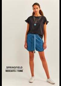Prospectus Springfield ROSNY-SOUS-BOIS : Nouveautés / Femme