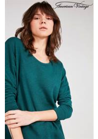 Prospectus American Vintage LES CLAYES SOUS BOIS : Tops & Shirts Femme