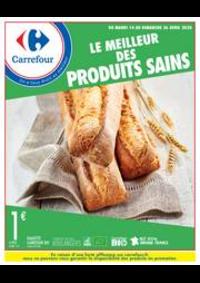 Prospectus Carrefour CHARENTON LE PONT : Manger Sain Avril