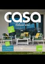 Prospectus Casa : Relaxez-vous