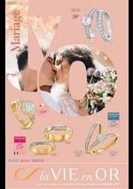 Promos et remises  : Bijouterie : Spécial mariage
