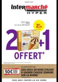 Promos et remises Intermarché Hyper MORTEAU : 2 + 1 OFFERT
