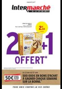 Prospectus Intermarché Super Roubaix - Rue de la Mackellerie : 2 + 1 OFFERT
