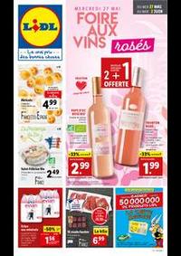 Prospectus Lidl CHAUMONT : Foire aux vins rosés