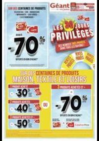 Prospectus Géant Casino CHAUMONT : Les 30 jours privilèges